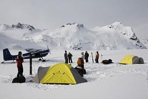 Camp chillin w plane