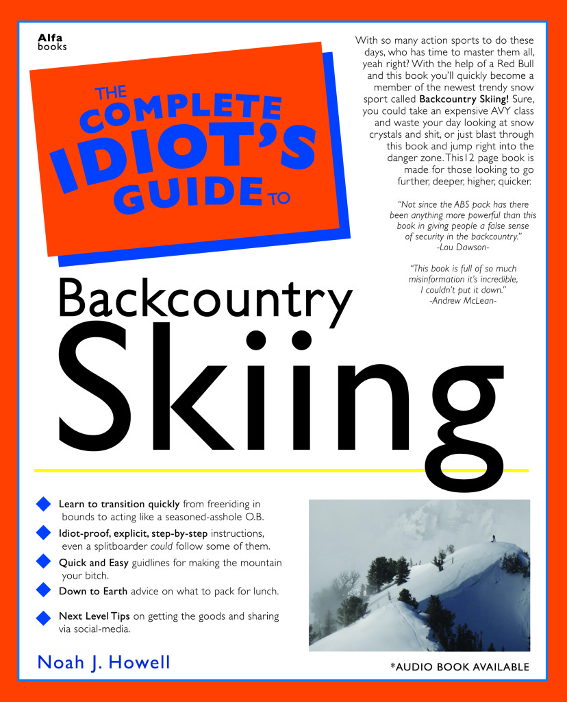 The Complete Idiot S Guide To Backcountry Skiing