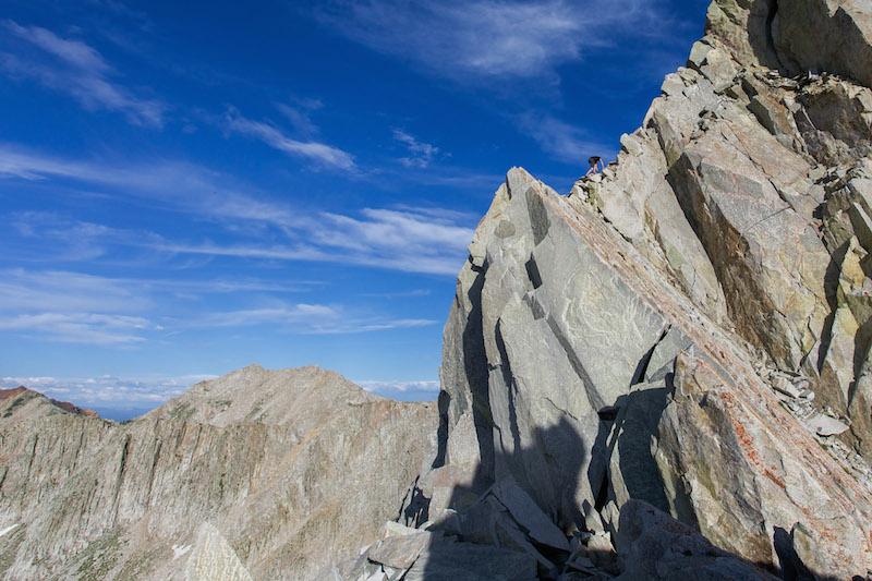 pfeifferhorn- north ridge