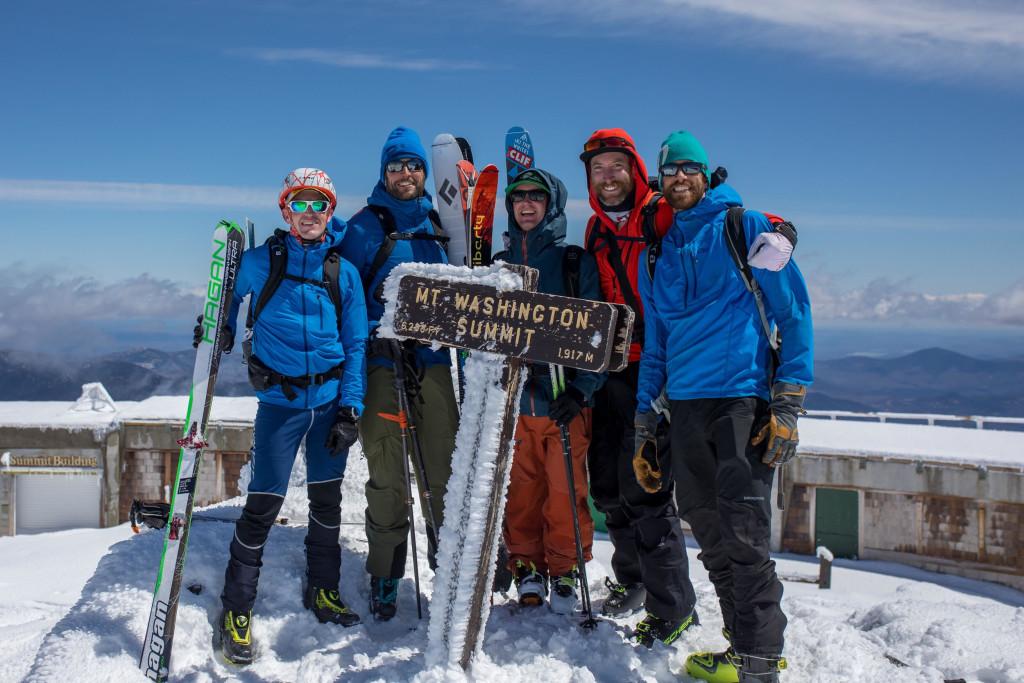 Mount Washington Summit shot